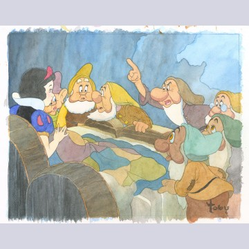 Walt Disney Fine Art by Toby Bluth