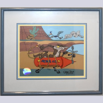 Warner Brothers Limited Edition Cel Acme Rocket