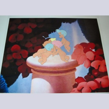 Original Walt Disney Production Cel of Cupids from Fantasia