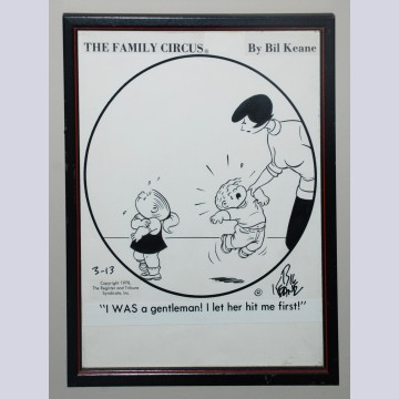 Original Bill Keane Family Circus Comic