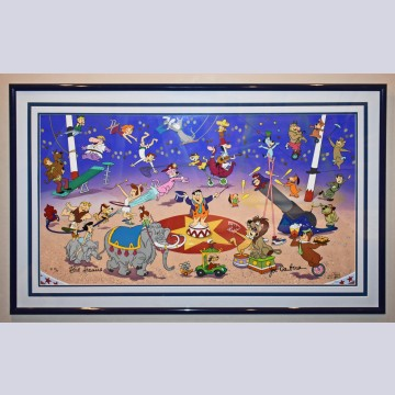 "Original Hanna Barbera Limited Edition Cel ""Circus of Stars"""