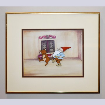 "Original production cell from ""Gnomes"" CBS TV Special"