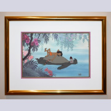 Disney Animation Art Limited Edition Cel, Bare Necessities