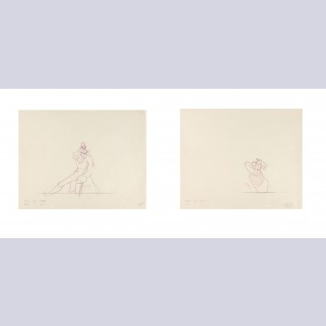 Original Walt Disney Matched Set of Production Drawings from Peter Pan
