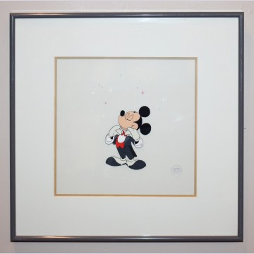 Original Walt Disney 1988 Academy Awards Production Cel featuring Mickey Mouse