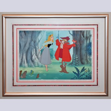 "Original Walt Disney Limited Edition Cel ""Once Upon a Dream"""