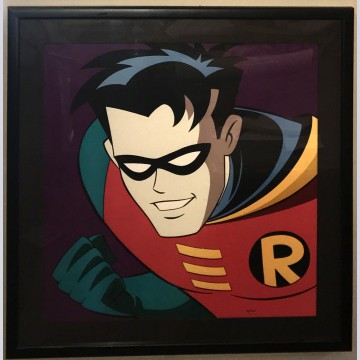 Original Warner Brothers Batman Limited Edition Fine Art Print, Robin