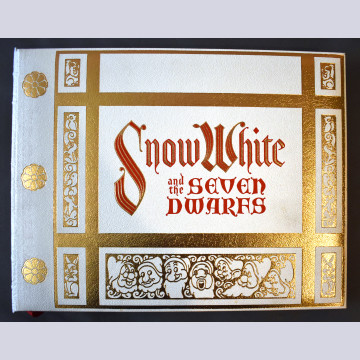 Original Walt Disney's Snow White and the Seven Dwarfs Book with Four Original Color Serigraphs