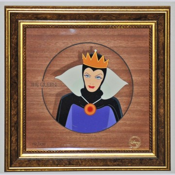 """Disney Animation Art Limited Edition Cel """"The Queen"""""""