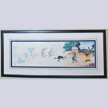 Original Warner Brothers Limited Edition Cel The Process Of Animation