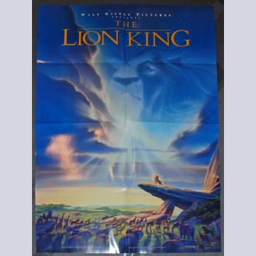 Disney Animation One-Sheet Movie Poster from The Lion King