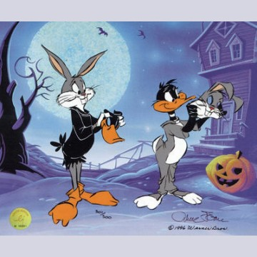 Warner Brothers Limited Edition Cel, Trick or Treat