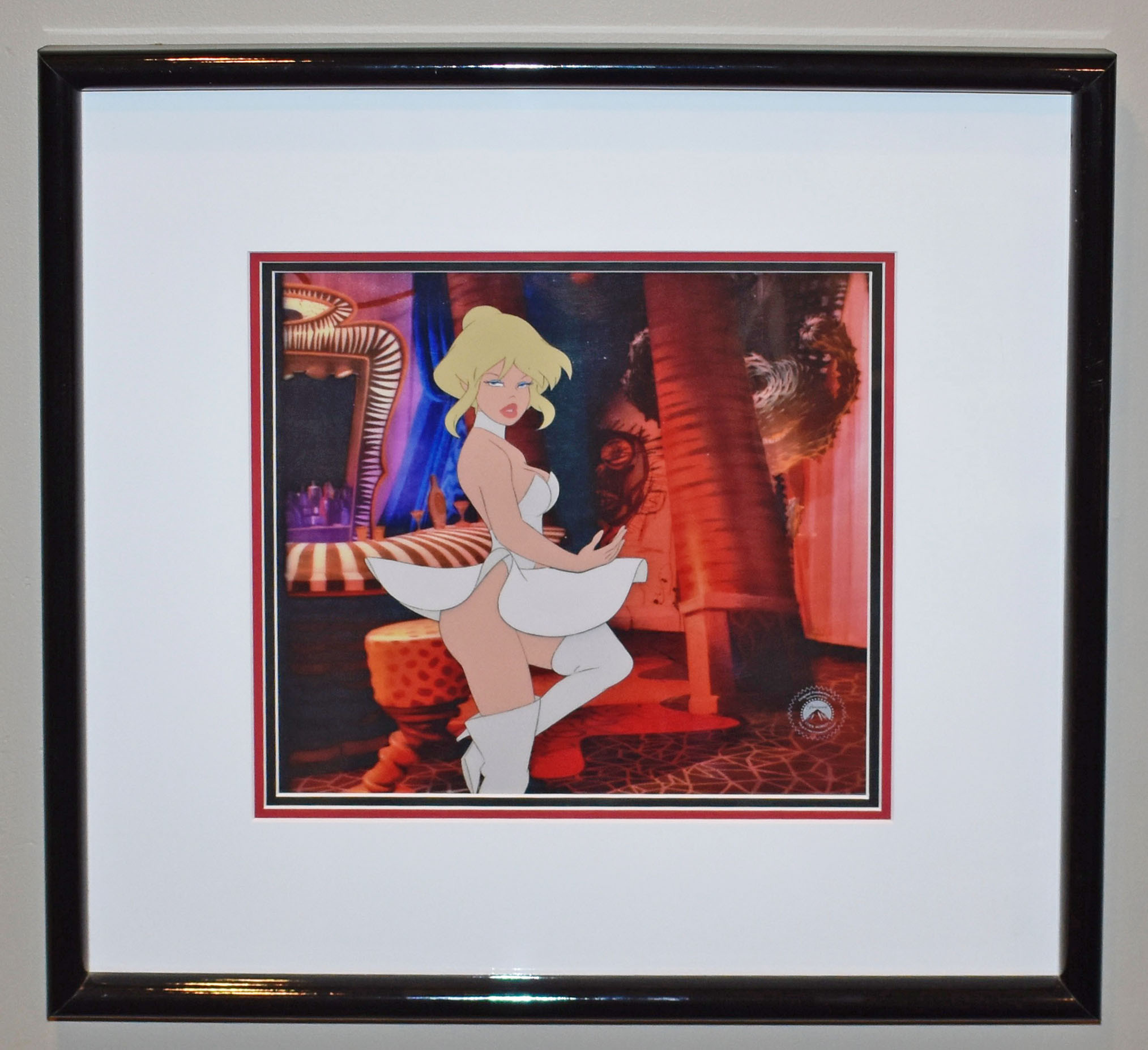Paramount Studios Cool World Production Cel Featuring Holli