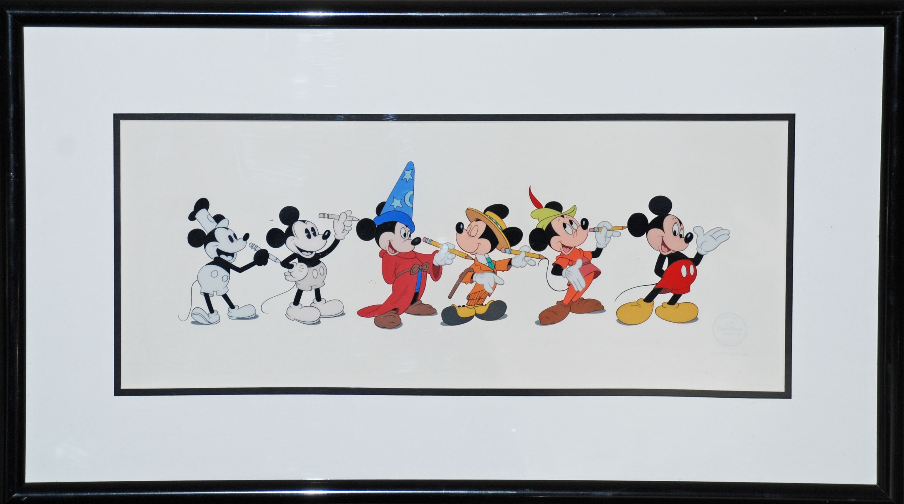 Original Walt Disney Sericel featuring Mickey Mouse | Animation ...