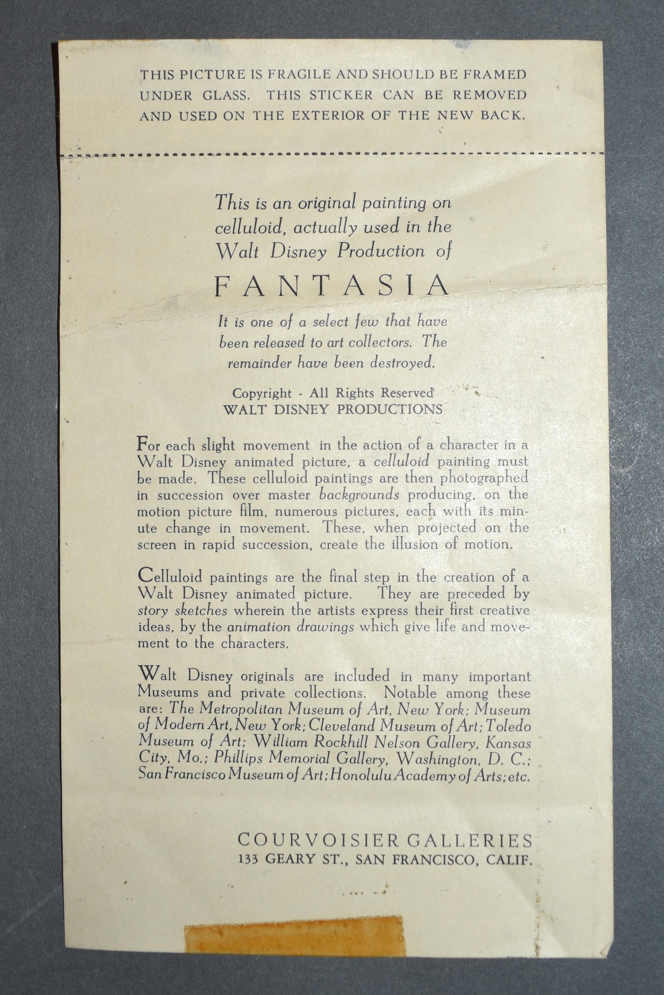 Fantasia | Animation Sensations