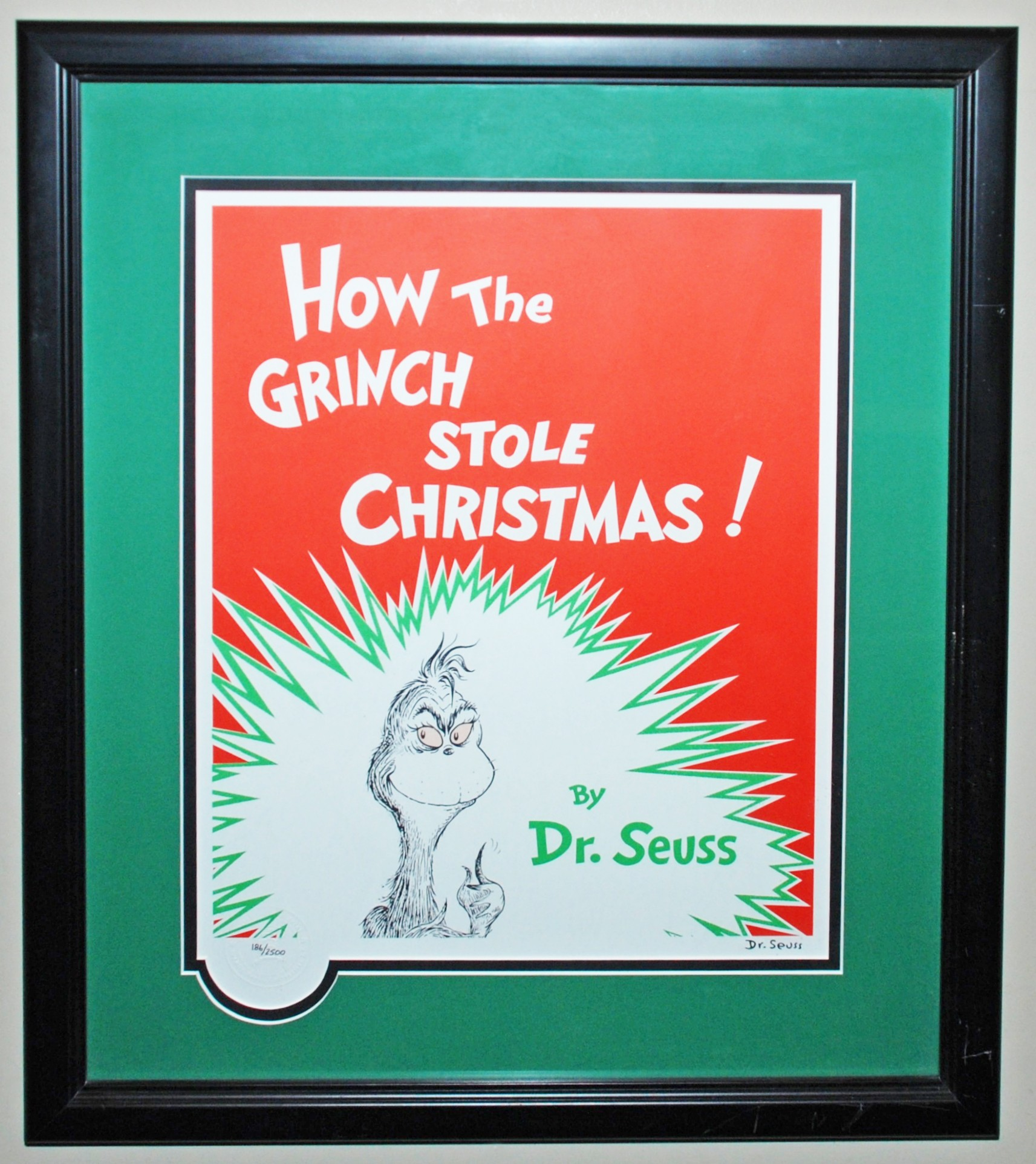 How The Grinch Stole Christmas Book Cover.The Grinch Animation Sensations