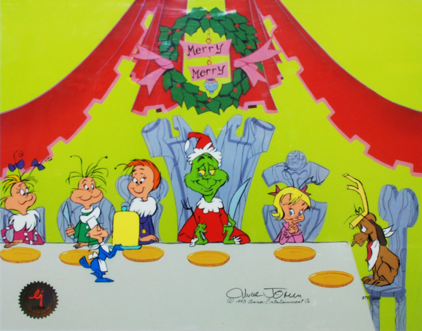 How the Grinch Stole Christmas 2000 film  Wikipedia