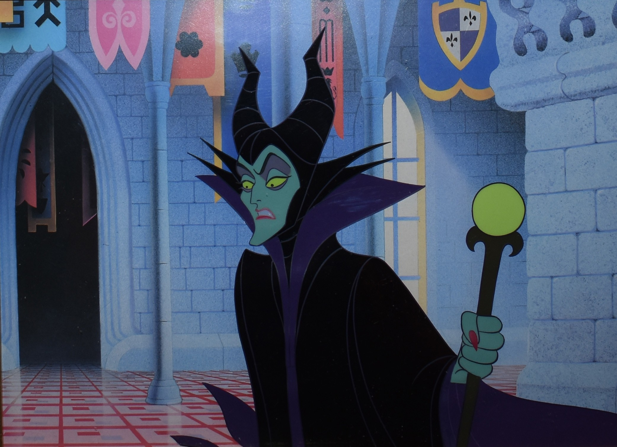 Animation Collection Maleficent Diablo Cel From – Wonderful