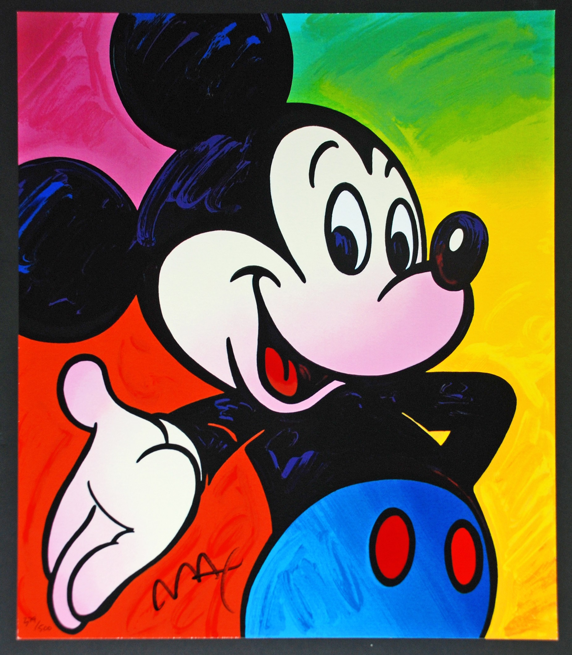 Peter Max Mickey Mouse | Animation Sensations