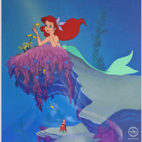 Original Walt Disney Limited Edition Sericel fro the Little Mermaid