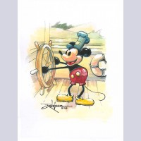 Walt Disney Fine Art by Rodel  Gonzalez