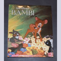 Original Walt Disney's Bambi: Story and the Film Book and Flipbook by Ollie Johnston and Frank Thomas (Shrink wrapped)