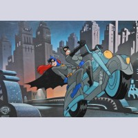 Original Warner Brothers Limited Edition Cel, When The Bat's Away, The Girls Will Play
