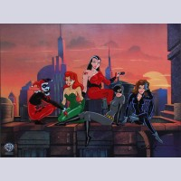 Original Warner Brothers Limited Edition Cel, Bad Girls of Gotham