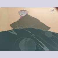 Original Walt Disney Production Cel from The Rescuers featuring Bernard