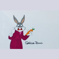 Warner Brothers Production Cel featuring Bugs Bunny from the Bugs Bunny/ Road Runner Movie