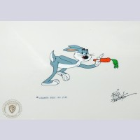 Original Warner Brothers Production Cel Featuring Bugs Bunny