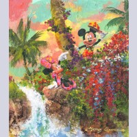 Walt Disney Fine Art by James Coleman