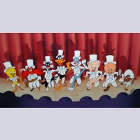 Original Warner Brothers Limited Edition Cel, Chorus Line