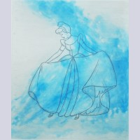 "Original Walt Disney Limited Edition Aquatint ""Cinderella Aquatint"""