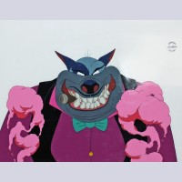Production Cel from All Dogs Go To Heaven