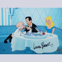 Original Warner Brothers Limited Edition Cel, If It's Rabbit Baby Wants, Signed by Lauren Bacall