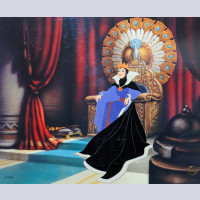 Original Walt Disney Limited Edition Cel, The Wicked Queen