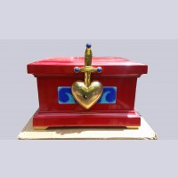 Original Walt Disney Evil Queen's Heart Box from Snow White