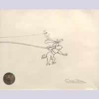 Original Production Drawing from How the Grinch Stole Christmas