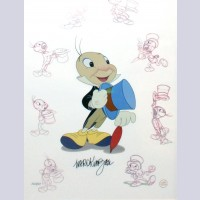 Original Walt Disney Limited Edition Masters Series featuring Jiminy Cricket