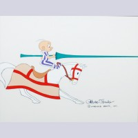 Original Warner Brothers Production Cel From King Arthur's Court
