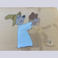 Original Walt Disney Production Cel from The Rescuers featuring Luke