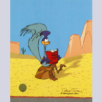 Warner Brothers Limited Edition Cel, The Neurotic Coyote