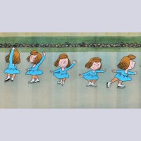 Original Peanuts Fifteen Cel Sequence Featuring Peppermint Patty, Signed By Bill Melendez