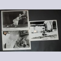 Original Walt Disney Set of 3 Black and White Stills from Pinocchio