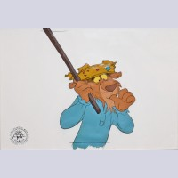 Original Disney Production Cel from Robin Hood featuring Prince John