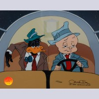 Original Warner Brothers Limited Edition Cel Rocket Squad