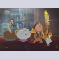 "Disney Animation Limited Edition Cel ""Wishing for Romance"""