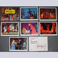 Original Walt Disney 7 Lobby Card set from Sleeping Beauty