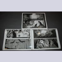 Original Walt Disney Set of 3 Black and White Stills from Sleeping Beauty